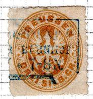 ALLEMAGNE - (Prusse) - 1861-65 - N° 20 - 3 S. Bistre - (Armoiries) - Preussen (Prussia)