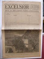 Journal EXCELSIOR 19 Septembre 1918 METZ Vu Des Lignes Franco Américaines GOUZEAUCOURT Et HOLNON Poincaré à Saint Mihiel - 1914-18