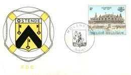 14167053 Be 19670603 Molenbeek; Kursaal;  Fdc Cob1418 - FDC