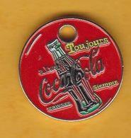 Jeton De Caddie En Métal - Buvez Coca-Cola - Toujours - Always Siempre Zawse - Munten Van Winkelkarretjes