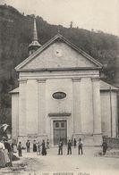 CPA 74 (Haute Savoie) MARIGNIER / L'EGLISE / ANIMEE / ANIMEE - France