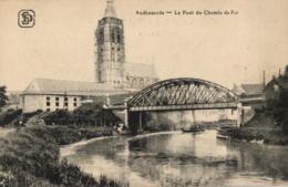 BELGIQUE - FLANDRE ORIENTALE - OUDENAARDE - AUDENARDE - Le Pont Du Chemin De Fer. - Oudenaarde