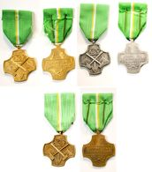 Médaille Syndicat ACV_lot De 3 Médailles Or-argent-bronze_1.5 - Professionnels / De Société