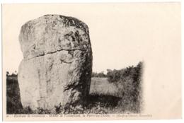 CPA 50 - JULLOUVILLE (Manche) - 21. Menhir De Vaumoisson, La Pierre-au-Diable - Frankreich