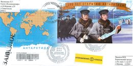 RUSSIA 2020 2591-2592. 200 Years Of The Discovery Of Antarctica. Mariners M.P. Lazarev  F.F. Bellingshausen (Sevastopol) - Arctic Wildlife