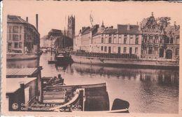Gent - Samenvloeien Van Leie En Schelde - Gent