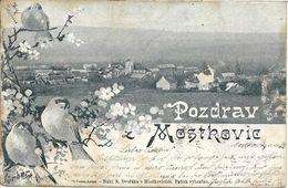 1901 - MOSTKOVICE  Okres PROSTEJOV , Gute Zustand, 2 Scan - Czech Republic