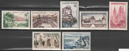 FRANCE    Série Touristique    N° Y&T  1125 à 1131  * - Ungebraucht