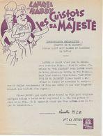 Lettre D'information De La MGM - Laurel Et Hardy - Les Cuistots De Sa Majesté - Publicidad