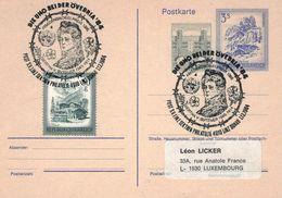 Bertha Von Suttner - Friedensnobelpreis 1905 - Ganzsache Linz 1984 - Bischofsmütze Heiligenstadt - Stacheldraht - Famous Ladies