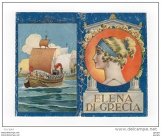 Calendarietto Profumato 1937 ELENA DI GRECIA - Calendarios
