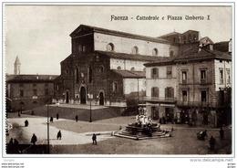 FAENZA Ravenna CATTEDRALE E PIAZZA UMBERTO I - Faenza
