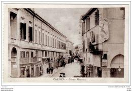 FAENZA Ravenna CORSO MAZZINI ANIMAZIONE INSEGNE PUBBLICITA´ - Faenza