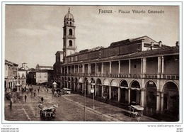 FAENZA Ravenna PIAZZA VITTORIO EMANUELE - Faenza