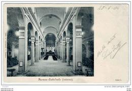 FAENZA Ravenna INTERNO CATTEDRALE VIAGGIATA 1904 - Faenza