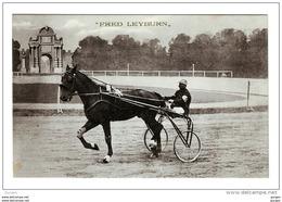 FAENZA Ravenna TROTTO 1911 CAMPIONATO EUROPEO FRED LEYBURN - Faenza