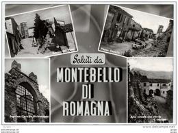 MONTEBELLO DI ROMAGNA RIMINI VEDUTINE - Rimini