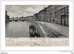 PISA Lung'Arno Mediceo Vg 1900 - Pisa