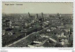REGGIO EMILIA PANORAMA VIAGGIATA 1916 - Reggio Nell'Emilia