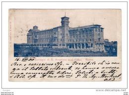 ROMA Collegio Di S. Anselmo Monte Aventino Vg 1900 - Education, Schools And Universities
