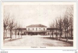 STAZIONE DI FAENZA CON CARROZZE Ravenna ROMAGNA - Faenza