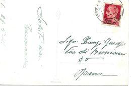 Cachet Militaire Nº 152 Sur Carte Postal 1941 Vers Roma - Correo Militar (PM)
