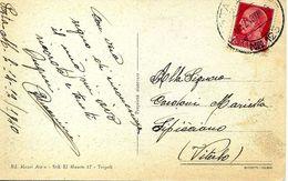 Cachet Militaire Nº 123 Sur Carte Postal 1940 - 1900-44 Victor Emmanuel III