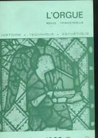 Revue - L'orgue Histoire Technique Esthétique N° 127 :Cavaillé-Coll, Orgue De Turin, JA GLocker Niort, Royat Göttingen - Music
