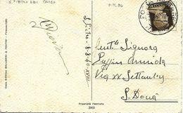 Cachet Militaire Nº 86 Sur Carte Postal 1940 (S. Pietro Del Corso) - Correo Militar (PM)