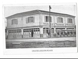 CHATELAILLON PLAGE (17) Restaurant Hotel Atlantic Façade - Châtelaillon-Plage