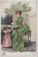 Commerce - Publicité Magasin Gavroy Rue Gambetta Lille 59 - Femme Mode Enfants - Chromo 19ème Siècle - Geschäfte