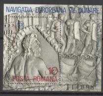 Rumänien Block 146 ** Postfrisch Donaukommission - Blocks & Kleinbögen