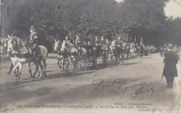 Evènements - Réceptions Roi Et Reine - Italia - Octobre 1903 - Cortège Des Souverains Pour Le Trianon - Recepciones
