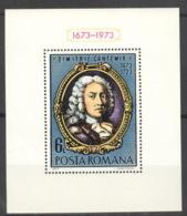 Rumänien Block 105 ** Postfrisch Cantemir - Blocks & Kleinbögen