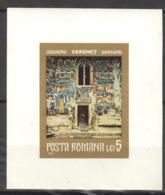 Rumänien Block 92 ** Postfrisch Fresken - Blocks & Kleinbögen