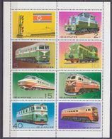 1976Korea North1555-1561KLLocomotives22,00 € - Trains