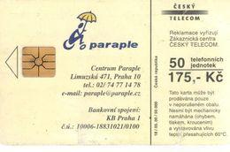 Télécarte TCHEQUIE - PARAPLE - Tschechische Rep.