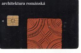 Télécarte TCHEQUIE - Aechitektura Romanska - Tschechische Rep.