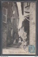 Carte Postale 83. Les Arcs  La Rue Du Bas-Four   Très Beau Plan - Les Arcs
