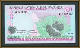 Rwanda 500 Francs 1998 P-26 (26b) UNC - Rwanda