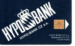 Télécarte TCHEQUIE - HYPO BANK - Tschechische Rep.