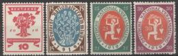Deutsches Reich 107/10 ** Postfrisch - Neufs