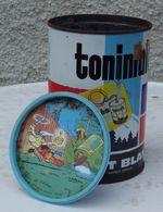ASTERIX - TONIMALT  Boîte Et Son Couvercle Sous-verre - Advertisement