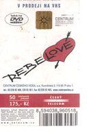 Télécarte TCHEQUIE - REBE LOVE - Tschechische Rep.