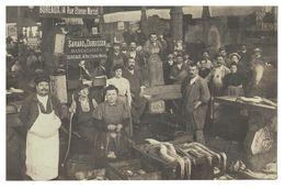 75 Paris,les Halles,Poissonnerie Mandataires,Saviard Et Dubuisson Rue Etienne Marcel ( Carte Photo) - Other