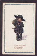 CPA Bertiglia Illustrateur Italien Non Circulé Enfants Ramoneur - Bertiglia, A.