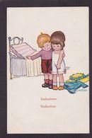 CPA Bertiglia Illustrateur Italien Non Circulé Enfants - Bertiglia, A.
