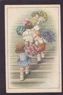CPA Bertiglia Illustrateur Italien Circulé Enfants - Bertiglia, A.