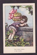 CPA Bertiglia Illustrateur Italien écrite Enfants érotisme - Bertiglia, A.