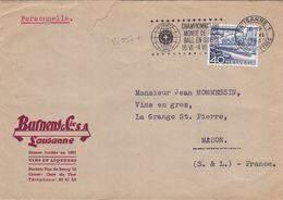 21037# SUISSE LAUSANNE 1954 CHAMPIONNAT DU MONDE DE FOOTBALL - 1954 – Zwitserland